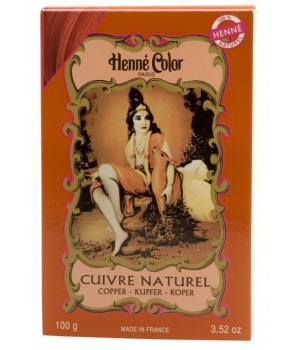 Cuivre Copper Henne Henna Hair Dye Powder