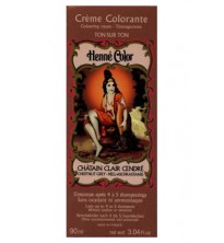 Chestnut Grey Henne Henna Liquid Hair Dye Colouring Cream