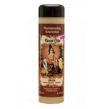 Dark Brown Henna Hair Shampoo