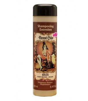 Dark Brown Henna Hair Shampoo