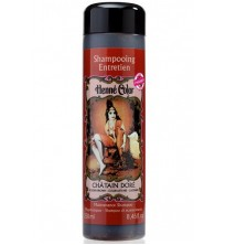 Golden Brown Henna Hair Shampoo
