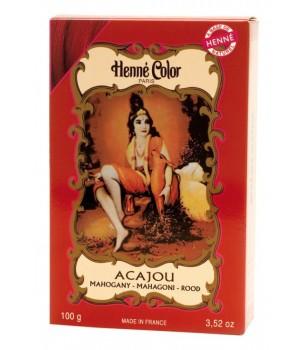Mahogany Acajou Henne Henna Hair Dye Powder