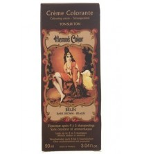 Dark Brown Henne Henna Liquid Hair Dye Colouring Cream