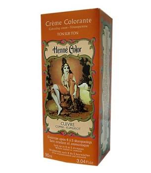 Copper Henne Henna Liquid Hair Dye Colouring Cream